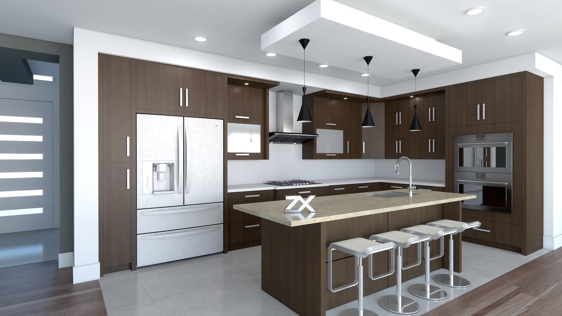 Render And Design Home Kitchen